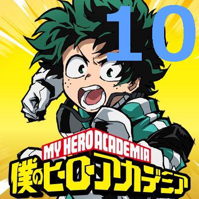 僕のヒーローアカデミア 第10話 【アニメ感想まとめ】
